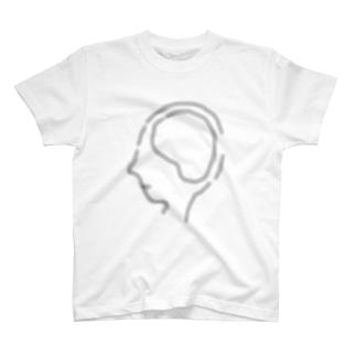 いびつな八面体ちゃんのこれから君が占める予定の空っぽの脳内 T-shirts