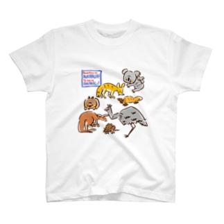 オーストラリアアニマル(500円募金) T-shirts