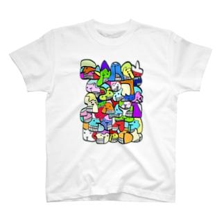 カラフルピポ T-shirts