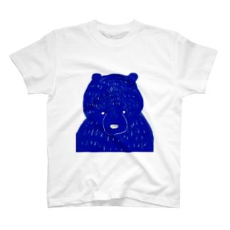 くまクマ熊 T-shirts