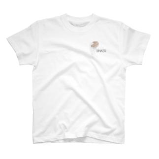 かっこいいハンバーガーの持ち方 T-shirts