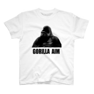 ゴリラエイムT T-shirts