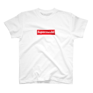 Supermodel ( スーパーモデル )  Supreme風  T-shirts