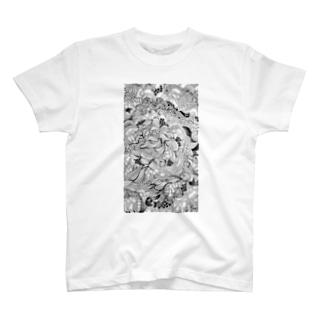 うねうね T-shirts