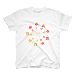 デザイン鷹 T-shirts