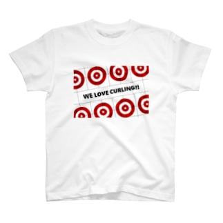 カーリングTシャツ T-shirts