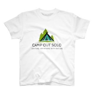 ソロキャンパーロゴ T-shirts