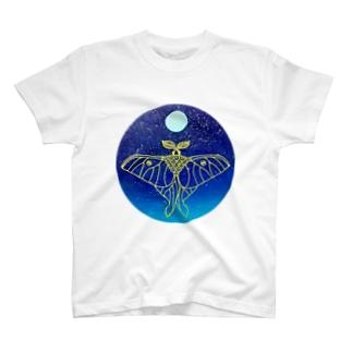 宇宙之蛾 T-shirts