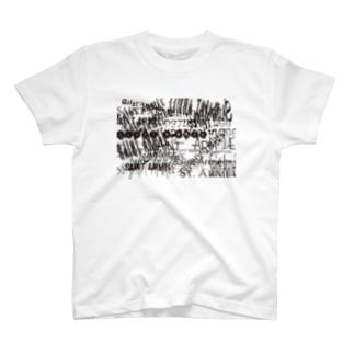 SAINT ARMÉE S/s20 ''CHAOS PATTERN''  T-shirts