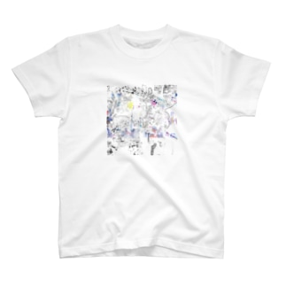 線と色と点と 2 T-shirts