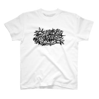 しろくろ T-shirts