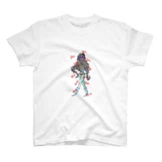もでるでるも T-shirts
