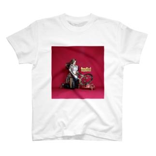 ドール写真:日時計を見る栗色の髪のガンファイター Doll picture: Sundial & girl T-shirts