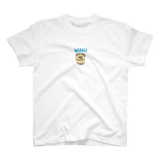 うぃぬ WINU T-shirts