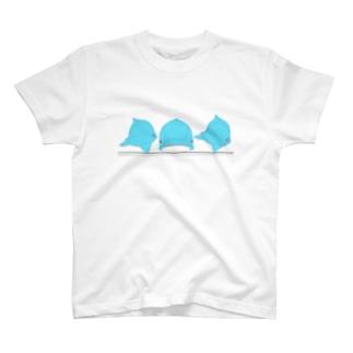 三面いるかJr T-shirts