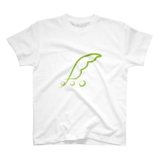 東北ずん子ロゴ T-shirts