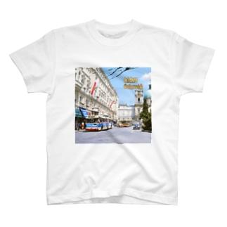 オーストリア:ザルツブルクのトロリーバス  Austria: Trolleybus in Salzburg  T-shirts