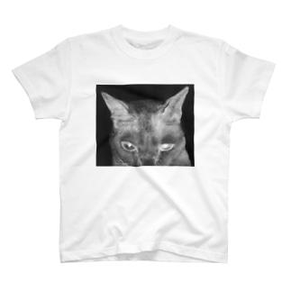 般ニャ 白黒反転ヴァージョン T-shirts