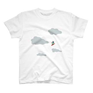 キミが雪山T T-shirts