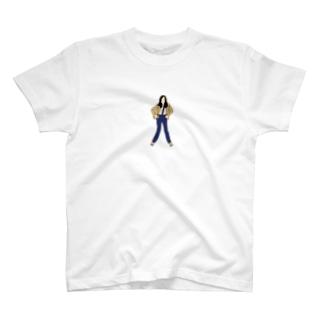 長髪のポップマエストロ T-shirts
