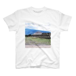メキシコ:テオティワカン遺跡 Mexico: Teotihuacan T-shirts