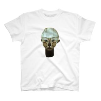 顔ランプ T-shirts