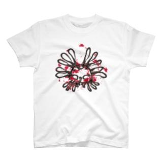 ちみどろハナモグラくん T-shirts