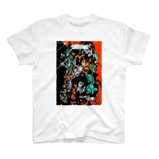 monotsukuri production ALL STARS T-shirts