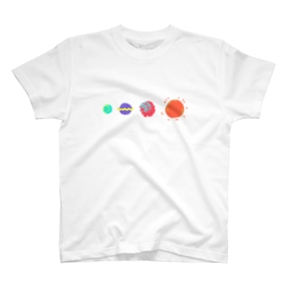 惑星ズ T-shirts