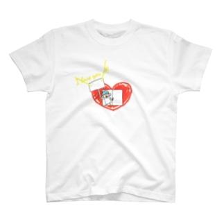 心の窓から愛を叫ぶ T-shirts