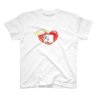 心の窓から感謝を叫ぶ T-shirts