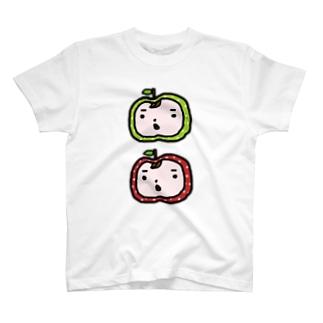 りんごまんず☆ T-shirts