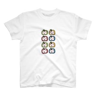 りんごまんず8! T-shirts