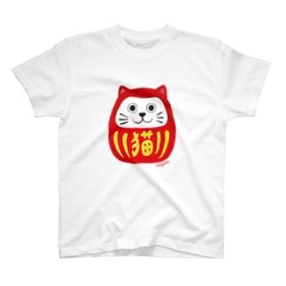ねこ達磨 T-shirts