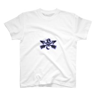 オリジナルロゴ パープル T-shirts
