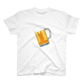 ビール🍺 T-shirts