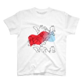 ハシルネコ T-shirts
