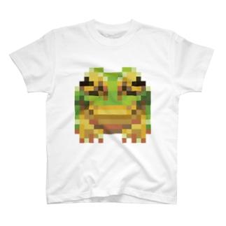 16色ガエル T-shirts