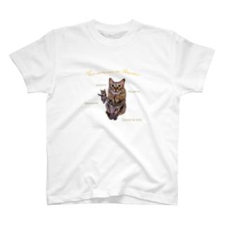 キャットテレパシー T-shirts