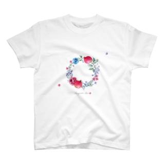 ザクロのリース T-shirts