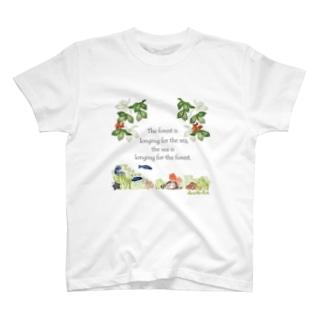 森は海の恋人寄付グッズ T-shirts