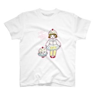 みるくいちごガール T-shirts