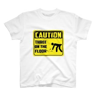 くまお画伯オンラインショップくまお堂のボードに刺さらないにもほどがある T-shirts