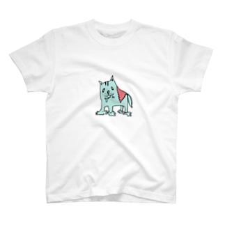 とろけるドッグ 青ハム T-shirts