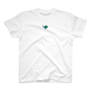 繊細で気難しいフィッシュ T-shirts
