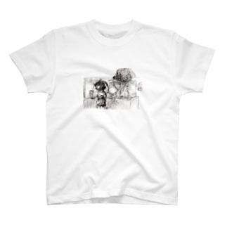 壺泥棒 T-shirts
