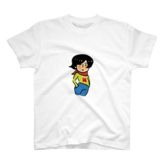 モデルポーズな子 T-shirts