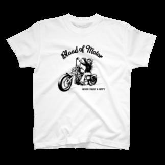 JOKERS FACTORYのBLOOD OF MOTOR T-shirts