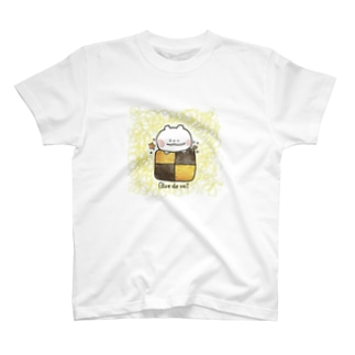 ぶるっくま〜スクエアクッキー〜 T-shirts