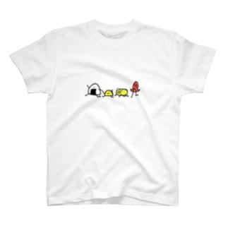 お弁当箱へGO T-shirts